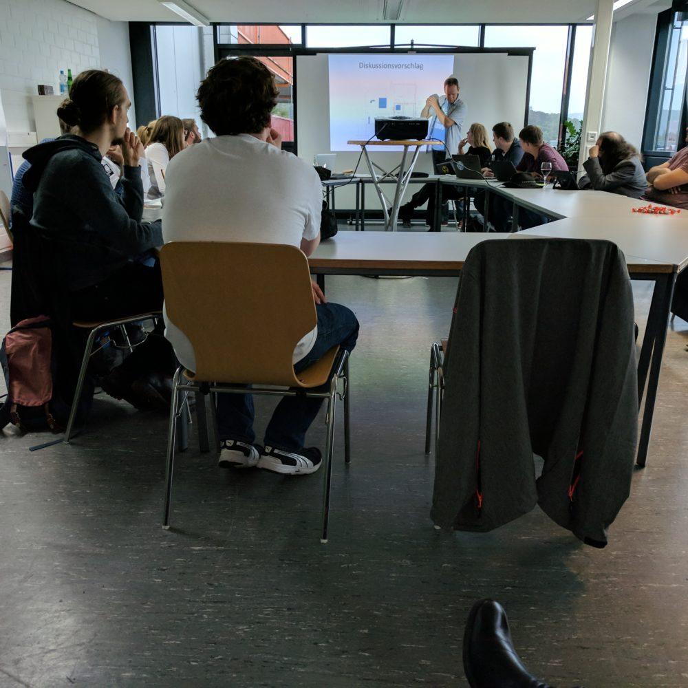 StuPa Sitzung September 2017